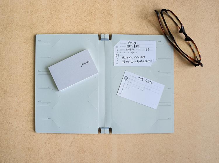 父の日セット,体験をメモできるメモ帳yourLogと名刺ファイル