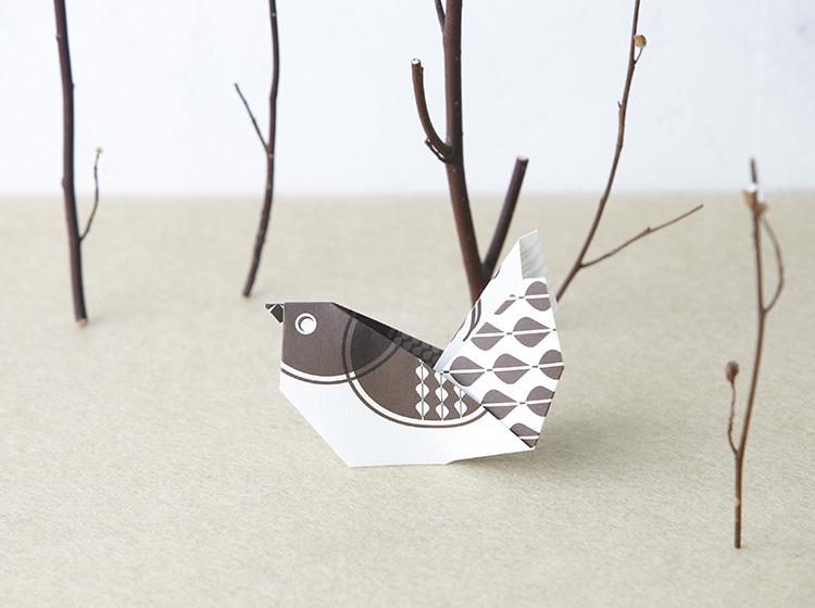 折り紙カード オリハガキジオメトリック