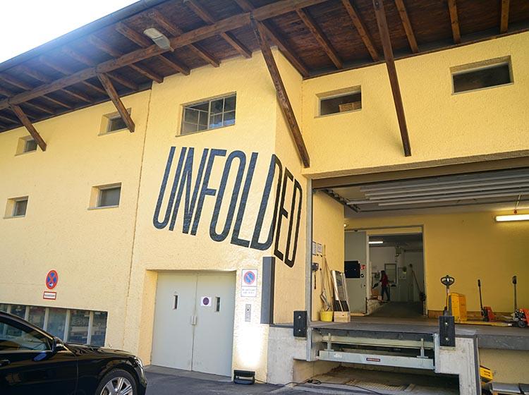 GMUND工場の外観