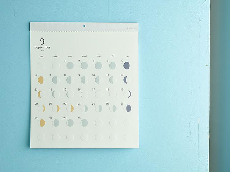 月の満ち欠けカレンダー「ミチル」