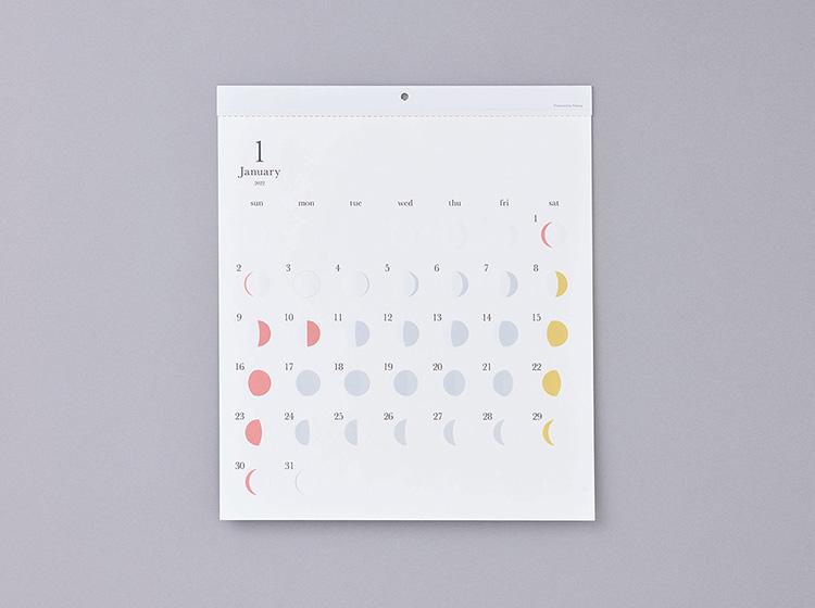 リプラグ月の満ち欠けカレンダーミチル