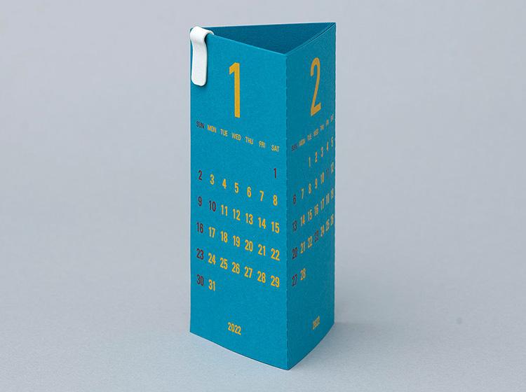 リプラグ3ヶ月卓上カレンダー リプラグトライアングラーピーコック
