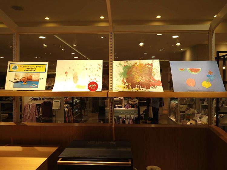 阪神梅田本店お絵かきセットアトリエミオのワークショップ